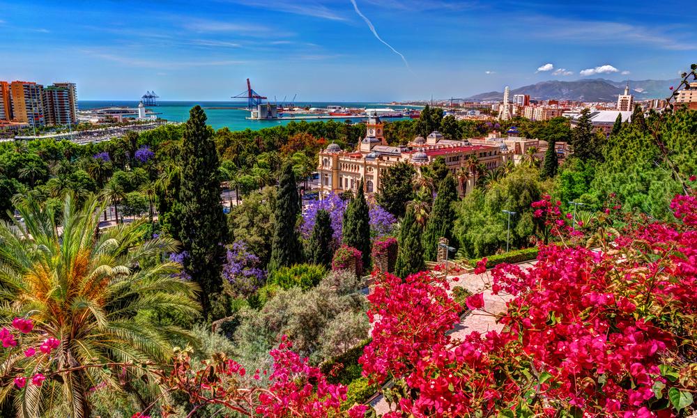 Malaga in Spring