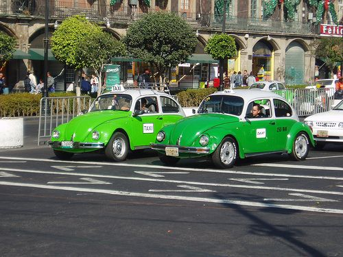 mexico city taxi