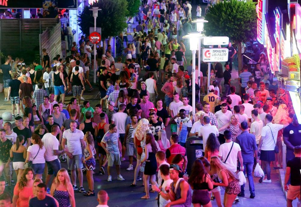 Punta ballena street in Magaluf - Mallorca