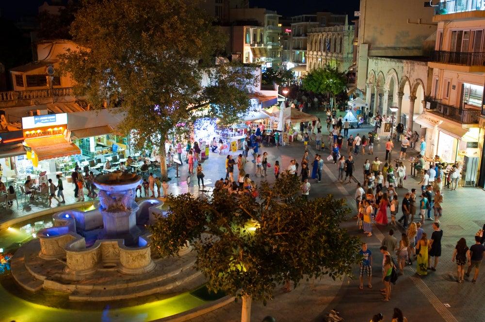 Crete nightlife - Greece