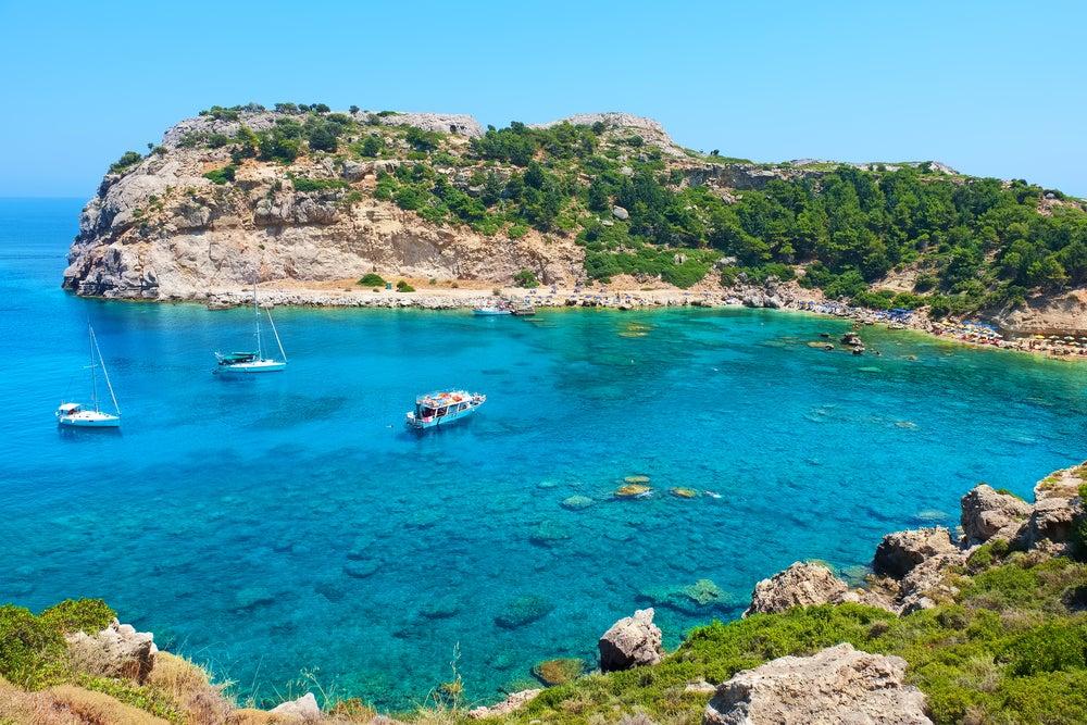 Rhodes beach - Greece