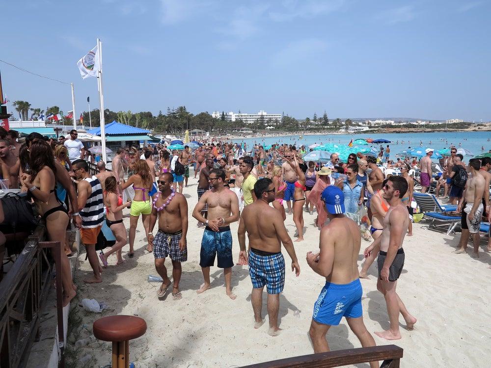 Ayia Napa party - Cyprus