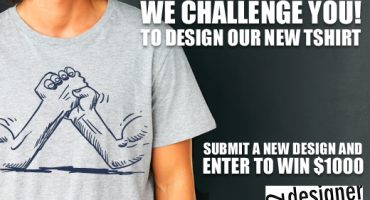 We Challenge You to Design our New Tshirt