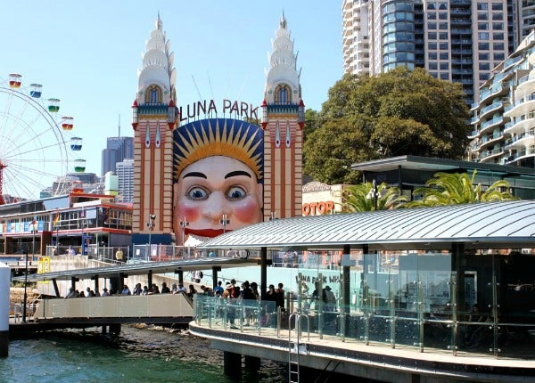 how to get to luna park from darling harbour