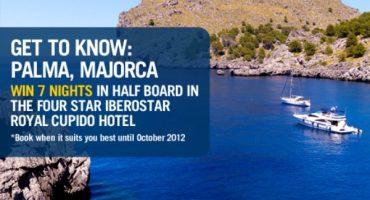 Win a 7 nights stay in Majorca