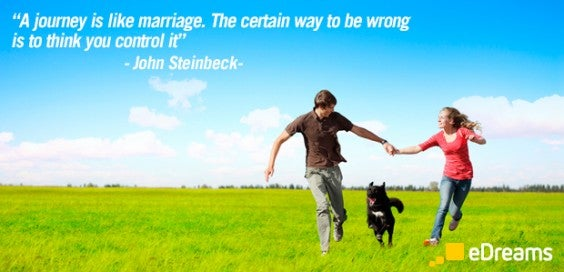 John Steinbeck travel quotes