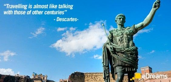descartes travel quotes
