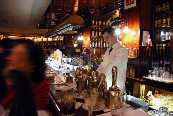 gin tasting in London