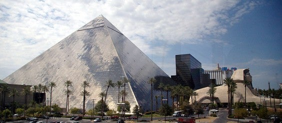 Luxor Another One Of The Largest Hotels In Las Vegas Is A 30 Story Pyramid Shaped Building Named After City Ancient Egypt