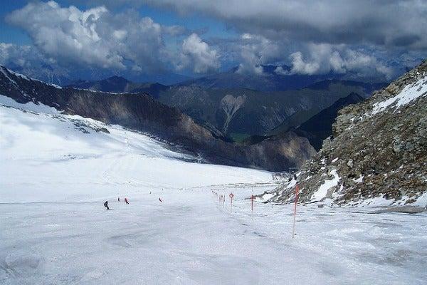 summer skiing f