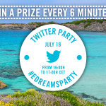 Summer Twitter Party, a prize every 6 minutes!