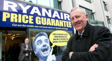 Ryanair Opens Up Shop in Manchester