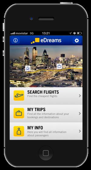 app edreams