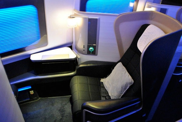 Flying first class british airways edreams travel blog for Ba cabina di prima classe