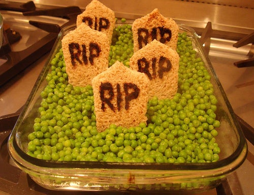 rip peas halloween treats
