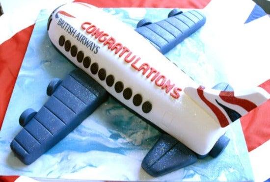 british airways cake
