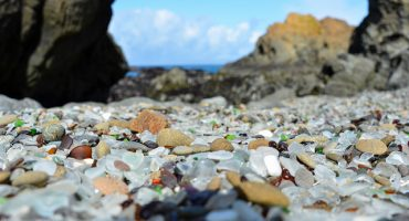 Fort Bragg, A Beach Made of Tiny Pieces of Glass