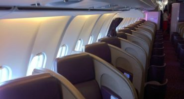 Flying First Class – Virgin Atlantic