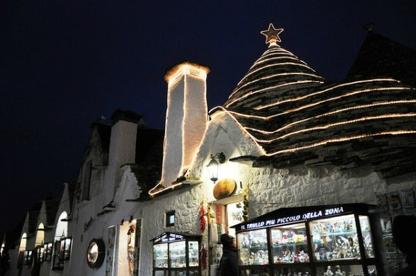 Alberobello, Puglia during Christmas
