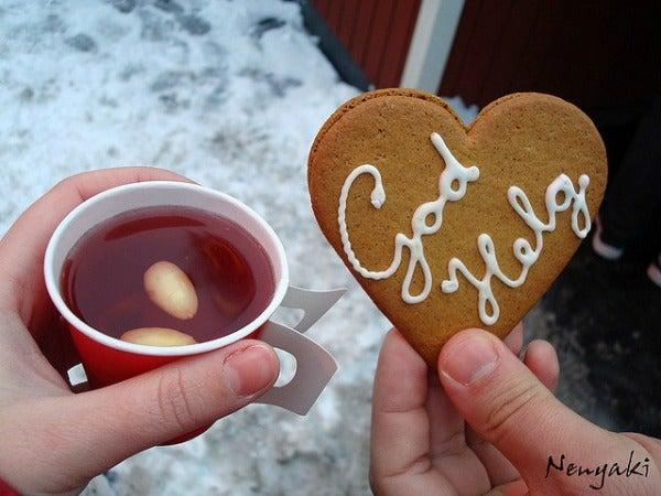 gløgg warming festive drink