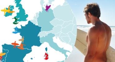Top Surf Spots in Europe