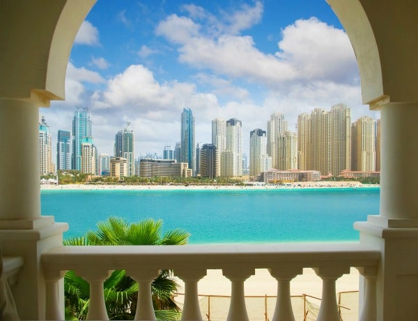 dubai celebrity vacation spot