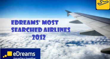 eDreams' Most Searched Airlines 2012