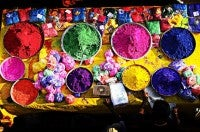 Holi Colours by Anoop Negi via Flikr