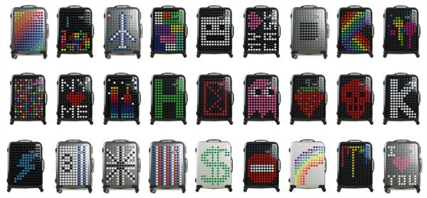 dot drops customized suitcase