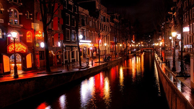 red light district Amesterdam