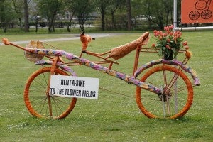 rent a bike keukenhof