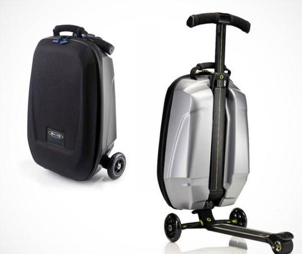 samsonite scooter suitcase