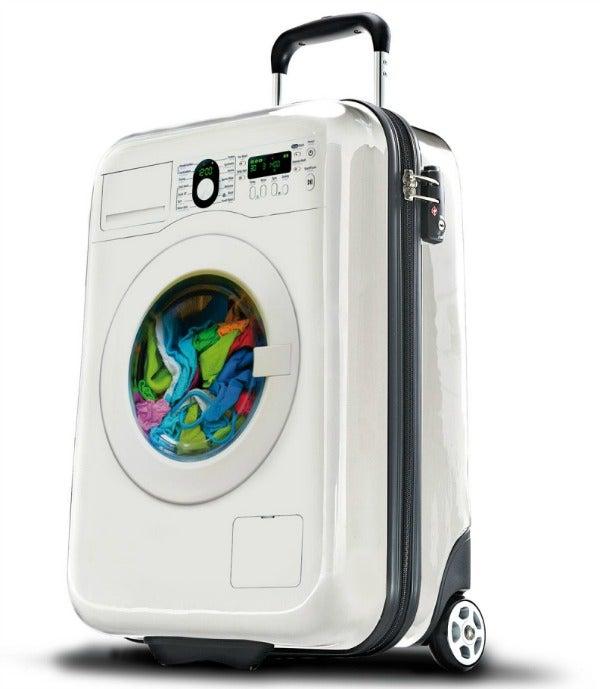 suitsuit washing machine suitcase