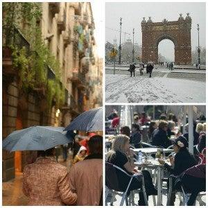 barcelona spring weather