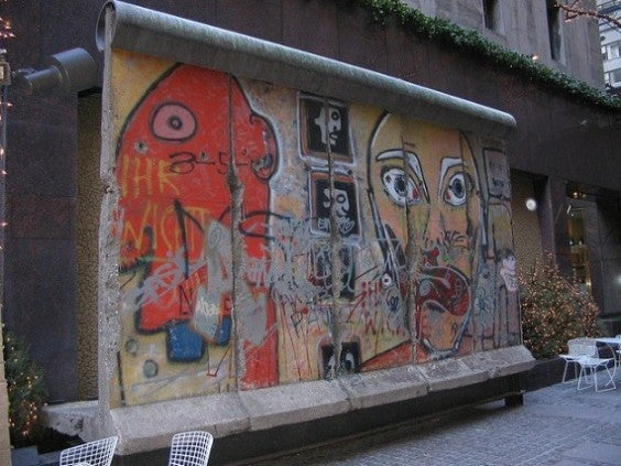 Berlin Wall in NY