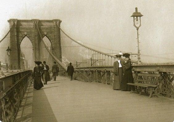 Brooklyn Bridge 1890