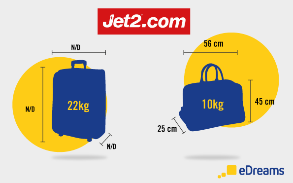 jet2 baggage allowance