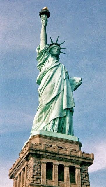 Statue of Liberty Present