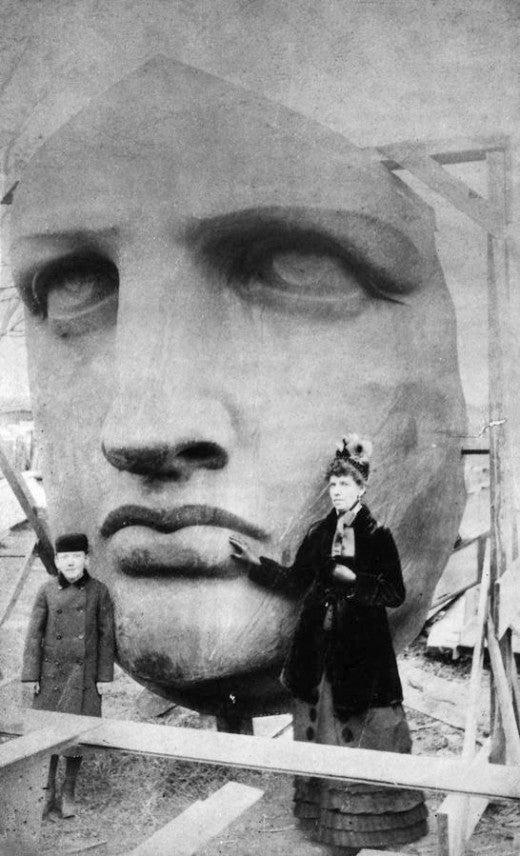 Statue of Liberty 1885