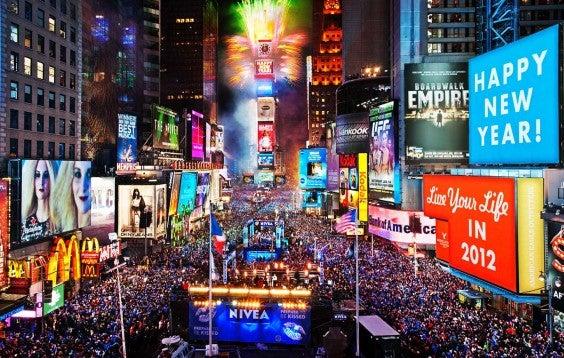 Times Square Present