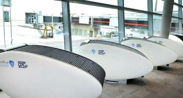 The Abu Dhabi Airport and its Sleeping Capsules