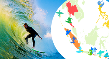 Top Surf Spots in Asia