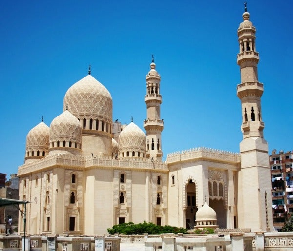 Abu al-Abbas al-Mursi Mosque alexandria egypt