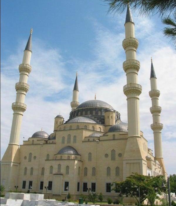 Azadi Mosque, Ashgabat mosque Turkmenistan