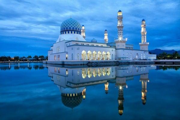 City Mosque Kota Kinabalu malaysia