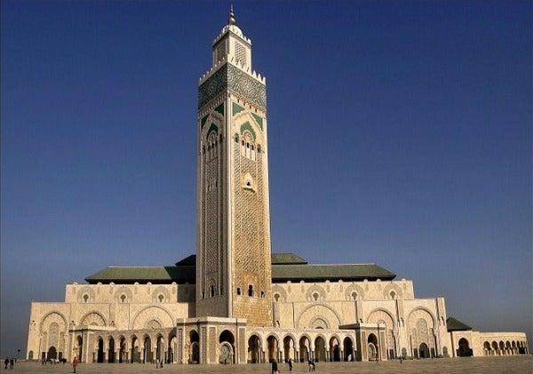Mosquée Hassan II casablanca, maroc