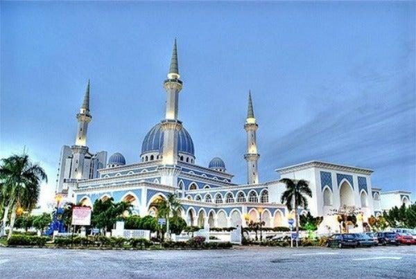Mesquita do Sultan Ahmad Shah State, Kuantan - Malásia