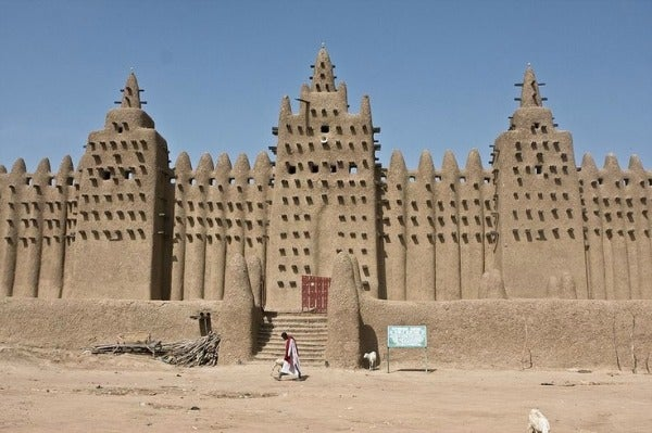 The Great Mosque of Djenné mali