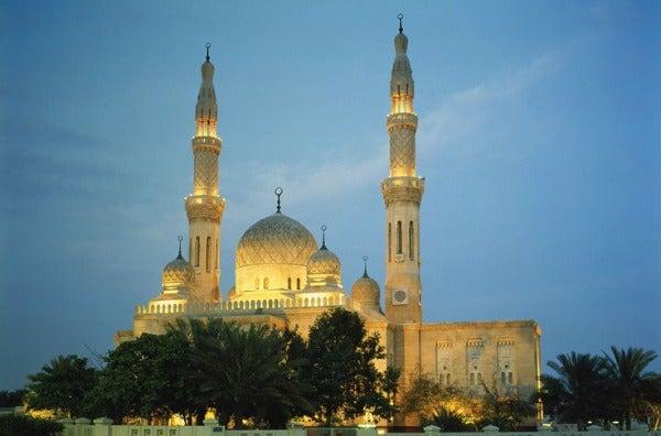 Mesquita Jumeirah, Dubai - Emirados Árabes Unidos