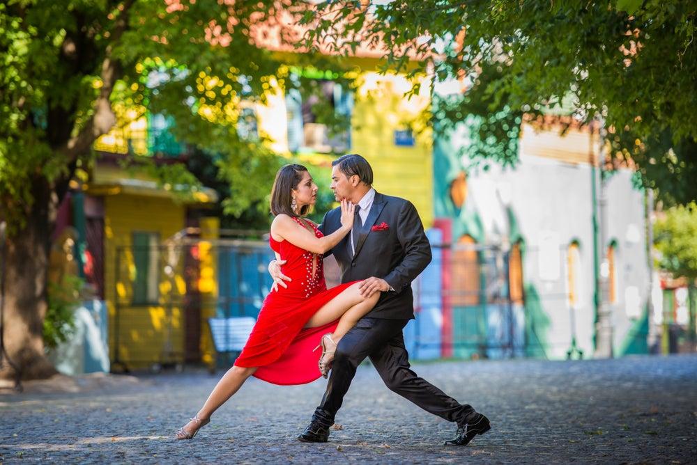 Tango dance in Argentina